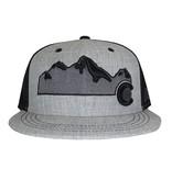AKSELS COLORADO MOUNTAIN TRUCKER HAT - HEATHER