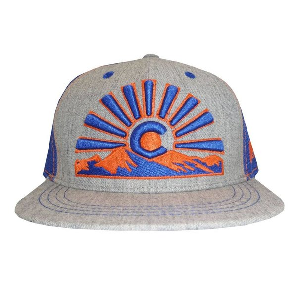 COLORADO SUNSET TRUCKER HAT - HEATHER ORANGE