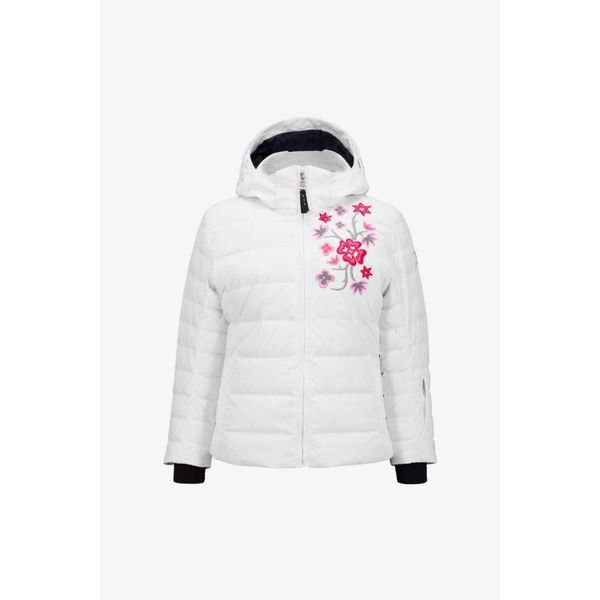 GIRLS KIERA-D SKI JACKET - WHITE