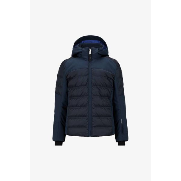 GIRLS DEMI-D SKI JACKET - NAVY - SIZE MEDIUM/LARGE (8)