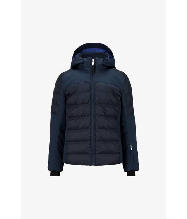 BOGNER JUNIOR GIRLS DEMI-D SKI JACKET - NAVY