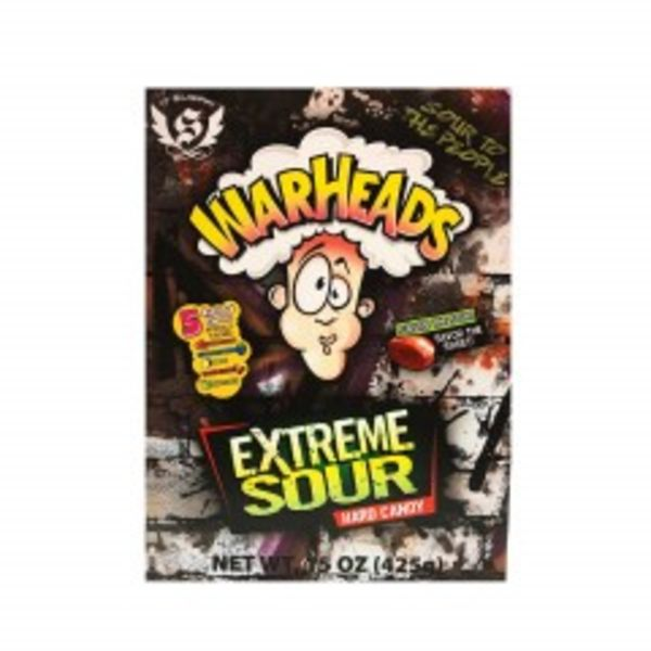 BIG WARHEADS EXTREME SOUR CANDY GIFT BOX
