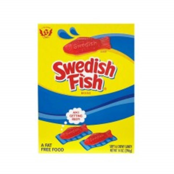 BIG SWEDISH FISH CANDY GIFT BOX