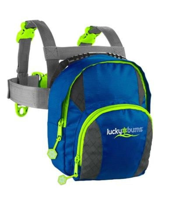 LUCKY BUMS CAMPING SKI TRAINER BACKPACK - BLUE