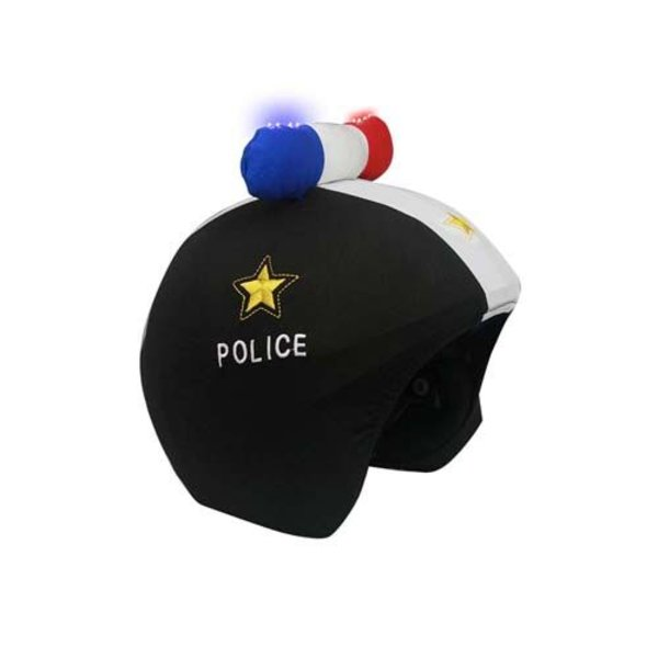 POLICE LED HELMET COVER