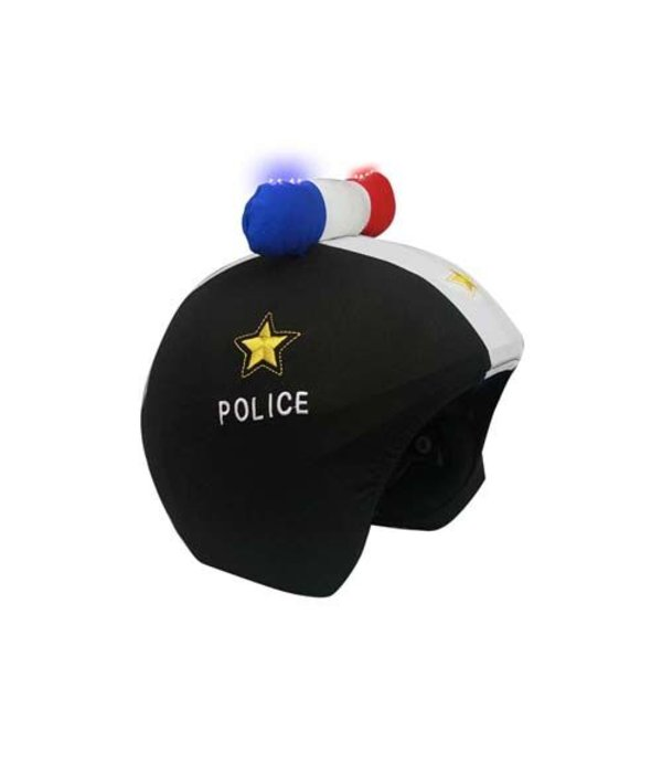 COOLCASC POLICE LED HELMET COVER
