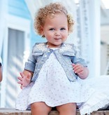 MAYORAL INFANT GIRLS BLEACHED DENIM JACKET