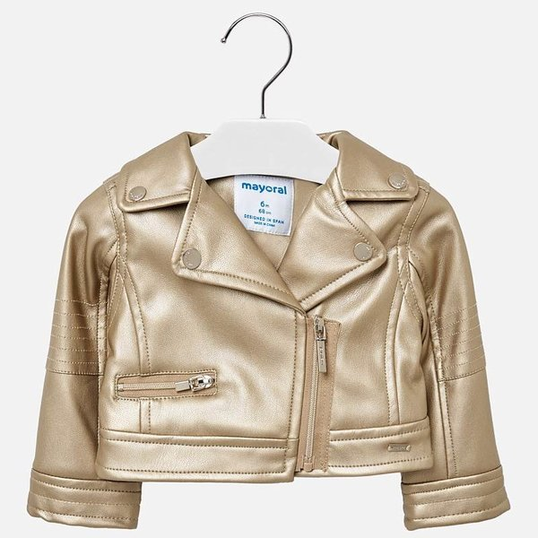 INFANT GIRLS LEATHERETTE JACKET