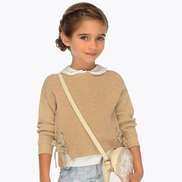 PRESCHOOL GIRLS RIBBON JUMPER