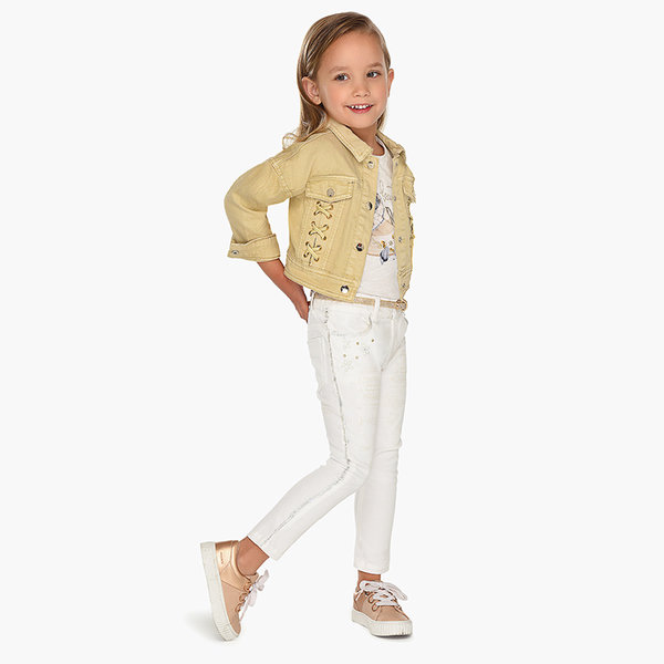 PRESCHOOL GIRLS DETAIL TROUSERS -