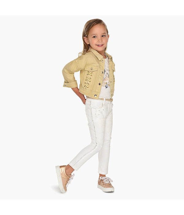MAYORAL PRESCHOOL GIRLS DETAIL TROUSERS