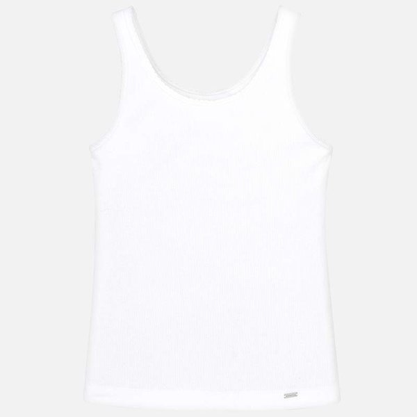 JUNIOR GIRLS TANK TOP - WHITE