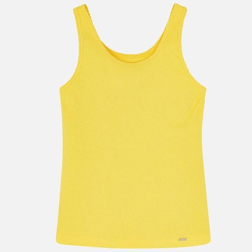 MAYORAL JUNIOR GIRLS TANK TOP - YELLOW