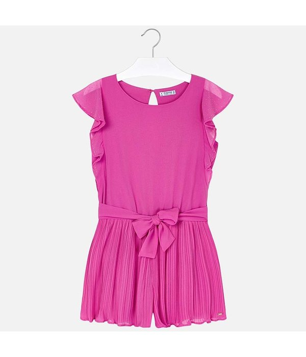 MAYORAL JUNIOR GIRLS CHIFFON PLAYSUIT