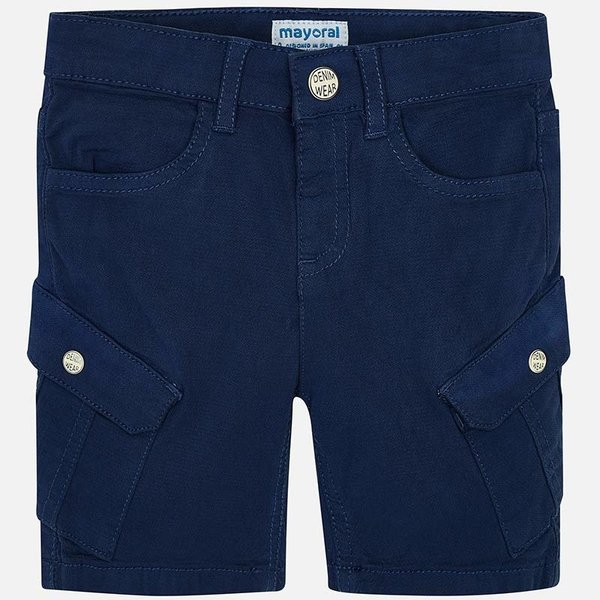 PRESCHOOL BOYS BERMUDA SHORTS WITH POCKETS