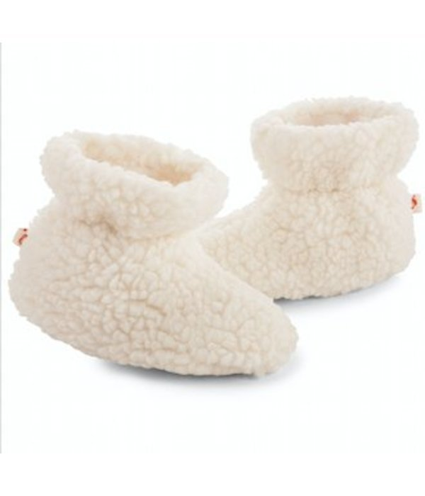 ACORN POPCORN BABY SLIPPERS - SIZE 18-24 MONTHS ONLY