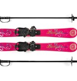 LUCKY BUMS SKI TRAINER WITH SKIS - PINK