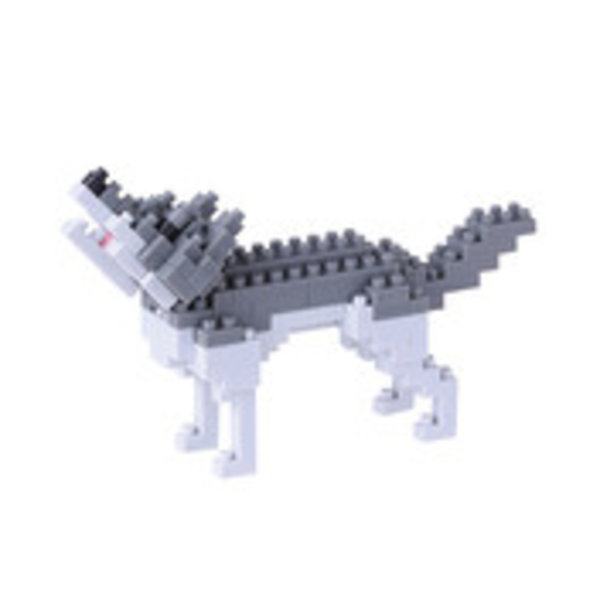 NANOBLOCK - GRAY WOLF - AGES 8+