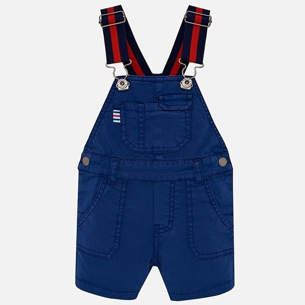 INFANT BOYS SHORT DUNGAREES WITH BRACES