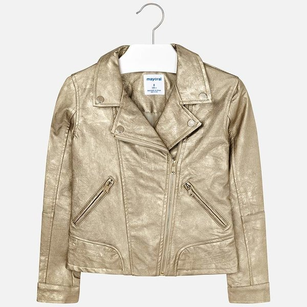 JUNIOR GIRLS LEATHERETTE JACKET