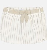 MAYORAL JUNIOR GIRLS KNOTTED STRIPED SHORTS