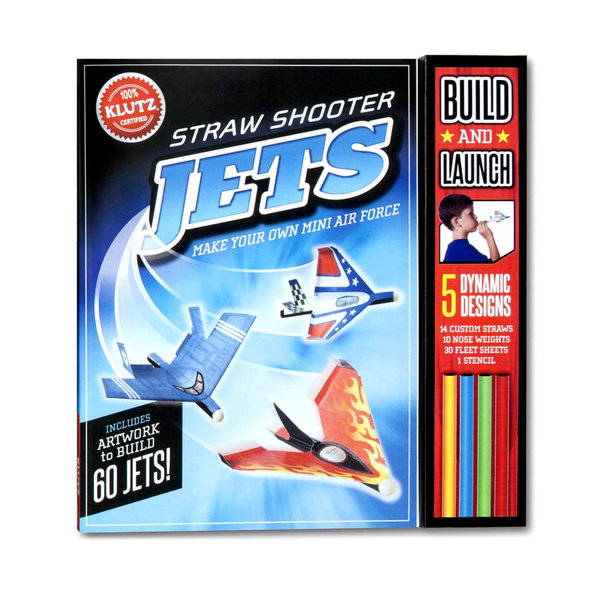 STRAW SHOOTER JETS