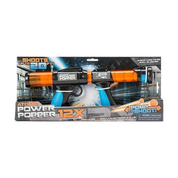 ATOMIC DOUBLE BARREL POWER POPPER 18X