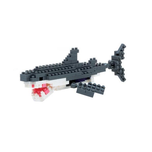 NANOBLOCK - GREAT WHITE SHARK - AGES 8+