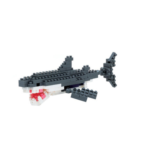 SCHYLLING NANOBLOCK - GREAT WHITE SHARK - AGES 8+