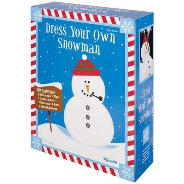 DRESS YOUR OWN SNOWMAN KIT