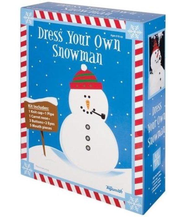 TOYSMITH DRESS YOUR OWN SNOWMAN KIT