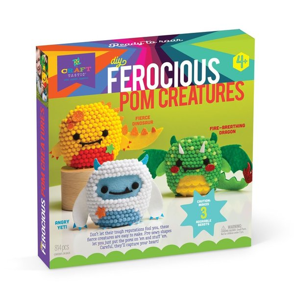 FEROCIOUS POM CREATURES