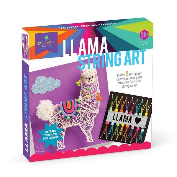 LLAMA STRING ART