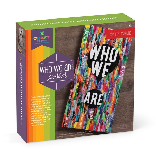 CRAFT-TASTIC WHO WE ARE POSTER KIT