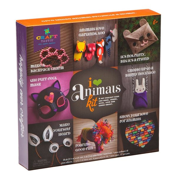 I LOVE ANIMALS KIT