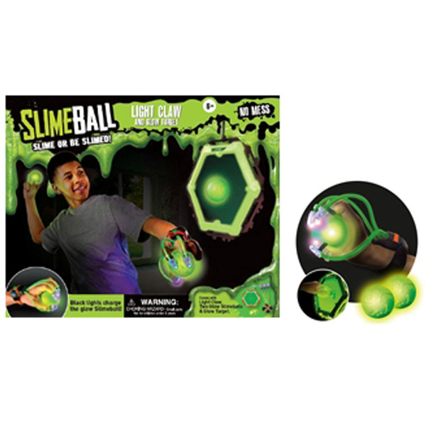 SLIMEBALL LIGHT CLAW AND GLOW TARGET
