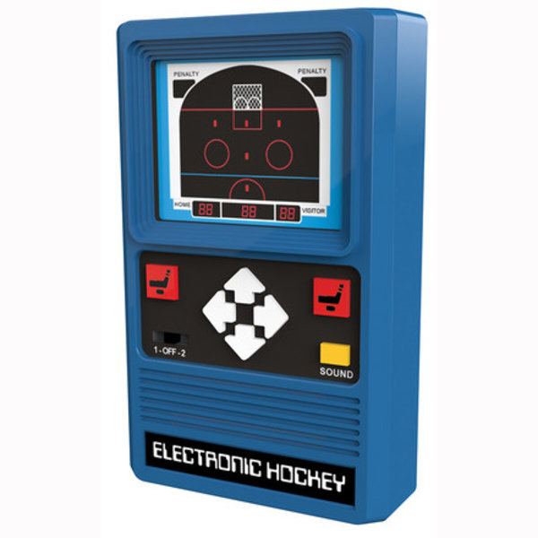 ELECTRONIC HANDHELD GAME - HOCKEY - AGES 8+