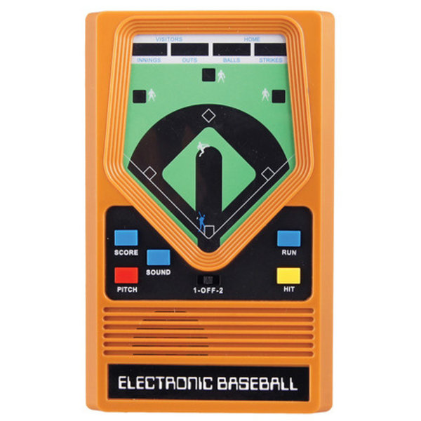 ELECTRONIC HANDHELD GAME - BASEBALL - AGES 8+