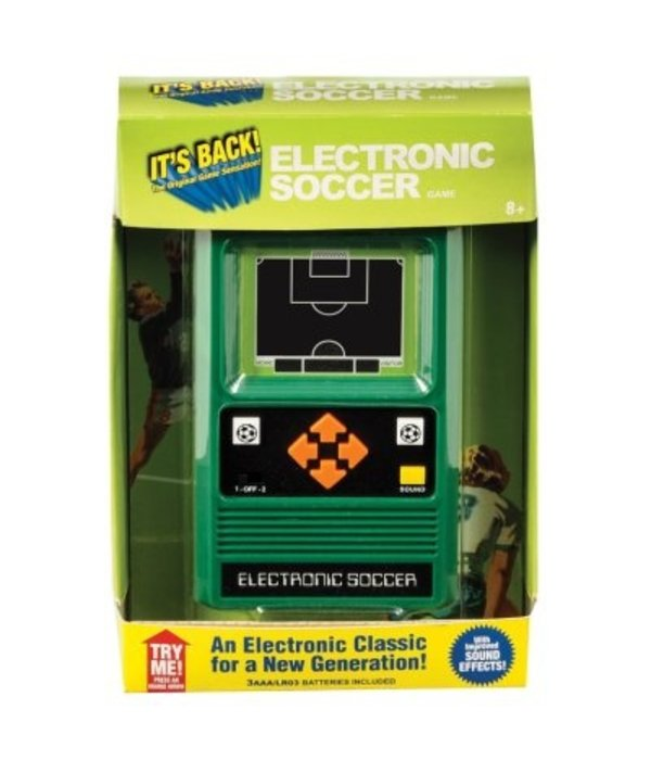 SCHYLLING ELECTRONIC HANDHELD GAME - SOCCER - AGES 8+