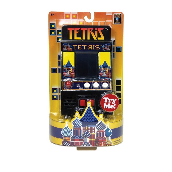 RETRO ARCADE GAME - TETRIS - AGES 8+
