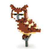 SCHYLLING NANOBLOCK - GREAT HORNED OWL - AGES 8+