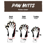 LAZY ONES BIGFOOT PAW MITTS