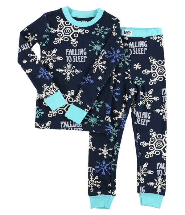 LAZY ONES FALLING TO SLEEP PJ SETT-BLUE SIZE 4