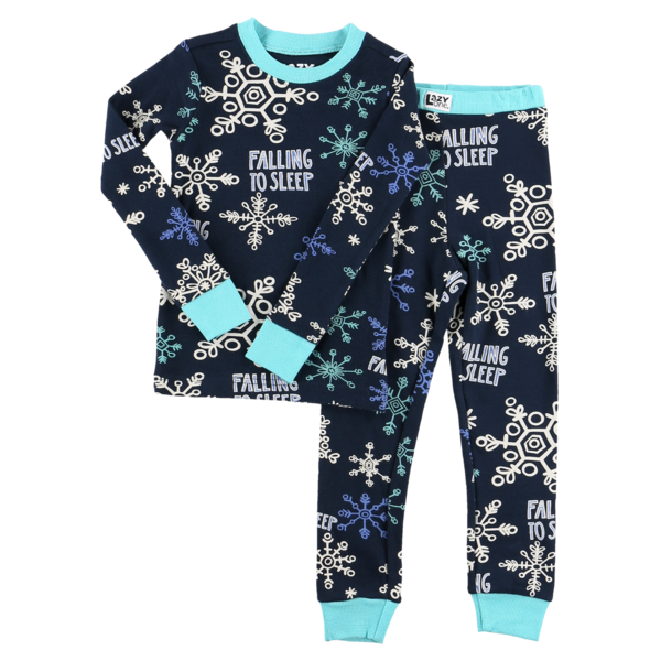FALLING TO SLEEP PJ SET-BLUE SIZE 3