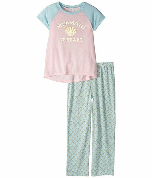 PJ SALVAGE TODDLER GIRLS MERMAID AT HEART PJ SET