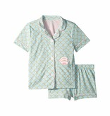 PJ SALVAGE PRESCHOOL GIRLS MERMAID PJ SET
