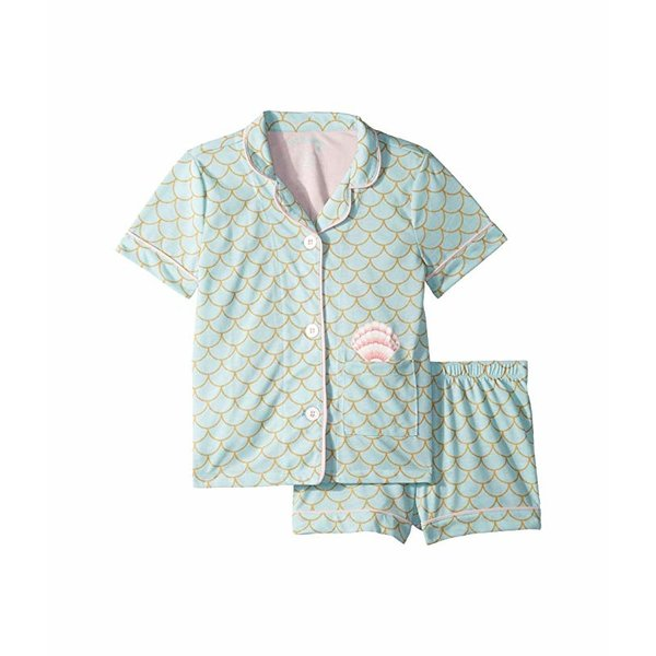 JUNIOR GIRLS MERMAID PJ SET - SIZE 10 ONLY