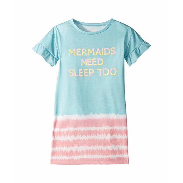 TODDLER GIRLS MERMAIDS NEED SLEEP TOO GOWN - SIZE 2 T ONLY