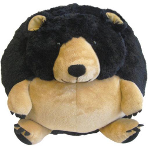 "SQUISHABLES 15"" BLACK BEAR"