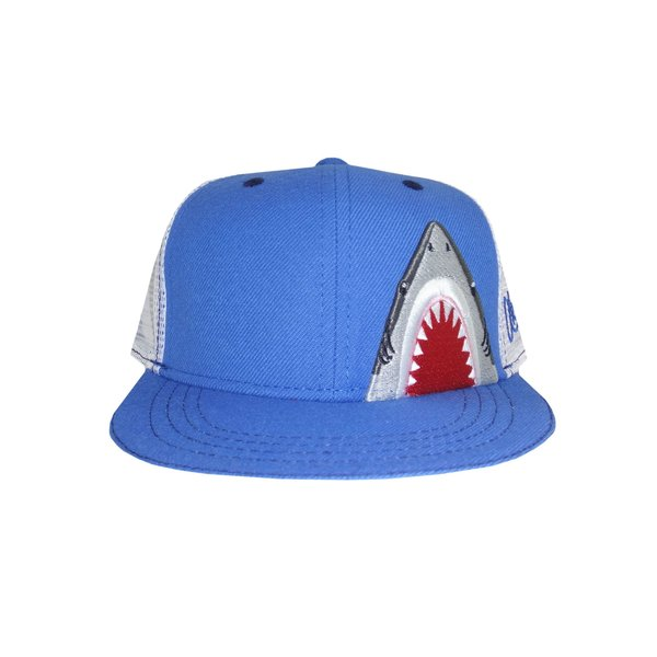 YOUTH SHARK TRUCKER HAT (AGES 2-12)